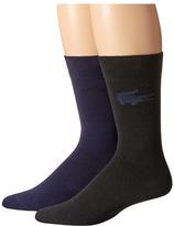 Lacoste Fine Jacquard Sock
