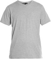 Y-3 Logo-print short-sleeved cotton T-shirt