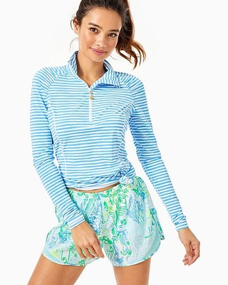 "Lilly Pulitzer Luxletic 4"" Ocean Trail Short"