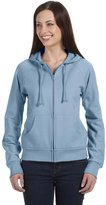 B.ella + Canvas Ladies' Full-Zip Raglan Hoodie (2X-Large)