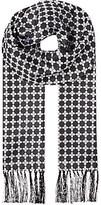 Duchamp Geometric silk scarf - for Men