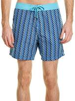 Mr.Swim Mr. Swim Mens Zigzag Printed Chuck Boardshorts