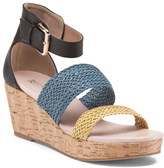 Brazil Cork Leather Wedges