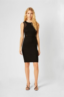 French Connection Manhatten Jersey Sleeveless Panelled Dress