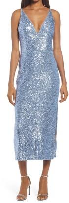 Xscape Evenings Sleeveless Sequin Dress