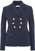 Altuzarra Seth Double-breasted Wool-gabardine Blazer - Navy