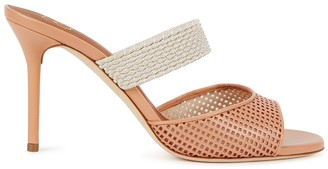 Malone Souliers Milena 85 blush leather sandals
