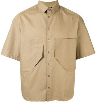 Neil Barrett Oversized Poplin Shirt