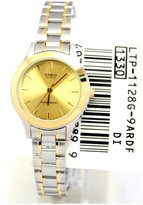 Casio Women's Core LTP1128G-9A Silver Stainless-Steel Quartz Watch with Dial