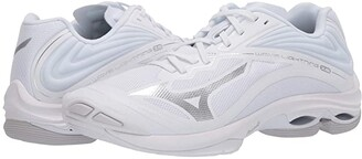 Mizuno Wave Lightning Z6 (White) Women's Volleyball Shoes