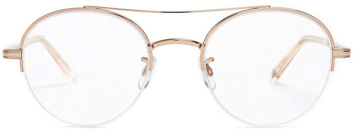 Garrett Leight Manchester 48 round-frame glasses