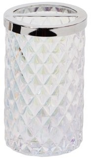 SKL Home Frosted Toothbrush Holder, Frosty