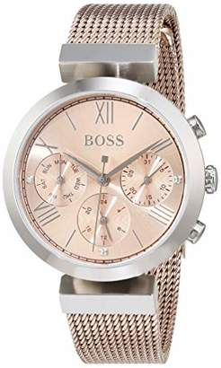 HUGO BOSS Womens Analogue Classic Quartz Watch with Stainless Steel Strap 1502426
