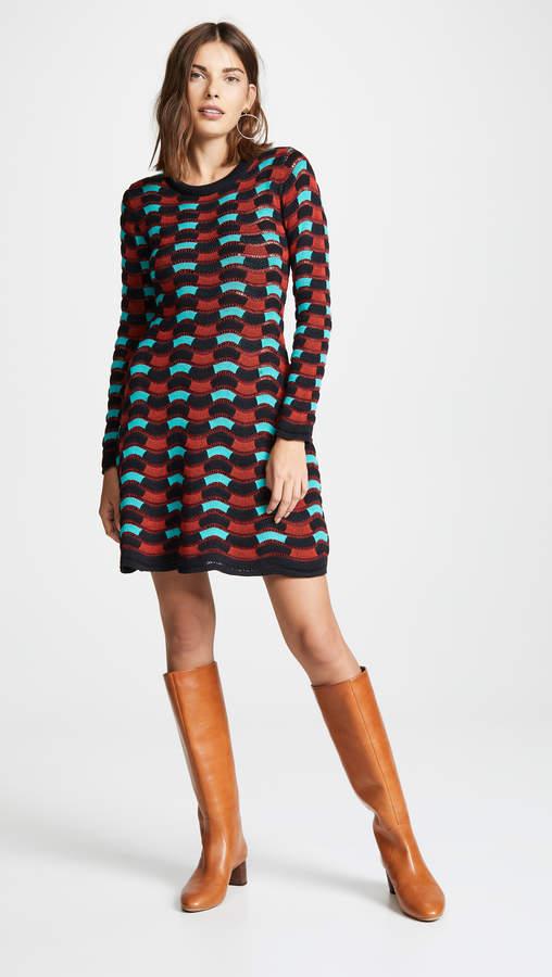 M Missoni Scallop Edge Dress