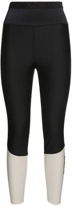 Moncler Tech Jersey Leggings W/ Bottom Logo