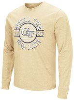 Campus Heritage Men's Campus Heritage Georgia Tech Yellow Jackets Zigzag Long-Sleeve Tee