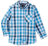 Tommy Hilfiger Melvin Plaid Shirt (Toddler & Little Boys)