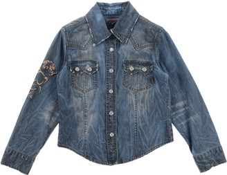 Roberto Cavalli JUNIOR Denim shirts