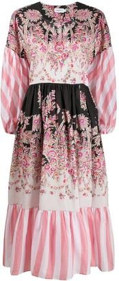 Liberty London Octavie Hilary wrap dress
