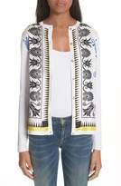 Versace Eros Silk Blend Cardigan