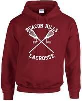 Allntrends Unisex Hoodie Beacon Hills Lacrosse (S, )