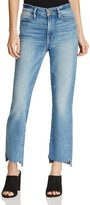 Frame Le High-Waist Raw Hem Jeans in Levine - 100% Exclusive
