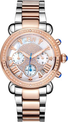 JBW Women's Victory Diamond Bracelet Watch, 37mm - 0.16 ctw