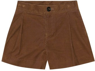 BURBERRY KIDS Corduroy shorts