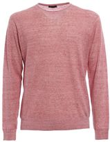 Z Zegna Melange Linen And Cotton Sweater