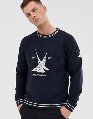 Helly Hansen twin sail sweatshirt-Navy