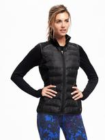 Old Navy Semi-Fitted Quilted Performance Vest For Women