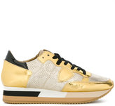 Philippe Model Tropez Bright flower sneakers - women - Leather/Patent Leather/Polyamide/rubber - 37