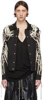 Rick Owens Black Mega Laced Worker Jacket