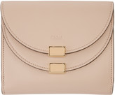 Chloé Pink Square Georgia Wallet