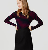 LOFT Stripe Ribbed Sweater