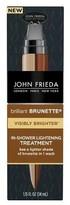 John Frieda Brilliant Brunette® Visibly Brighter In-Shower Lightening Treatment - 1.15 oz.