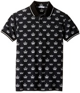 Dolce & Gabbana Crown Polo (Big Kids)