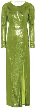 Galvan Adela sequined gown
