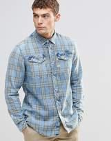 G Star G-Star Tacoma Green Check Shirt