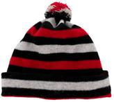 Burberry Wool Striped Beanie