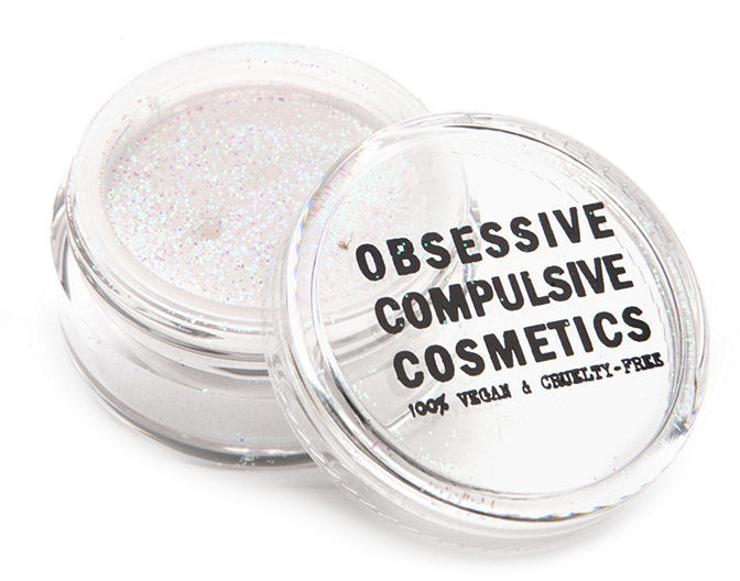 Obsessive Compulsive Cosmetics Cosmetic Glitter, Gold 0.08 oz (2.5 ml)