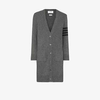 Thom Browne 4-Bar Wool And Cashmere-Blend
