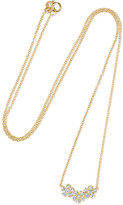 Jennifer Meyer 18-karat Gold Diamond Necklace - one size