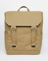 Asos Backpack With Military Styling