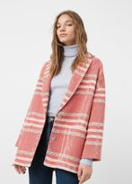 MANGO Lapels Cotton Coat