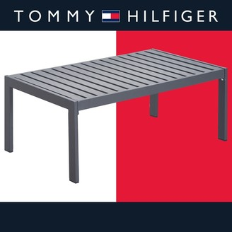 Tommy Hilfiger Monterey Outdoor Coffee Table, Gray Gunmetal