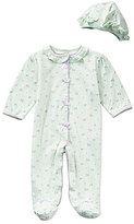 Little Me Baby Girls Preemie-9 Months Petite Rose Footed Coverall