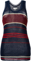 Etoile Isabel Marant striped knitted vest top
