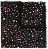 Saint Laurent 'Ãtoiles' large printed scarf
