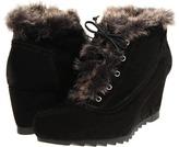 Earthies Seriph (Black Suede) - Footwear